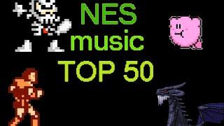 My Top 50 NES Music