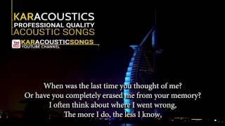 """dont you remember by adele an acoustic guitar backing track produced karacoustic songs. this is available in lossless and mp3 format that can d..."
