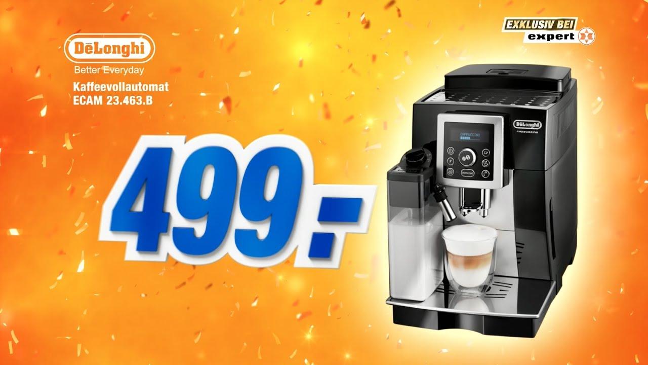 Delonghi Kaffeevollautomat Ecam 23 463 B Youtube