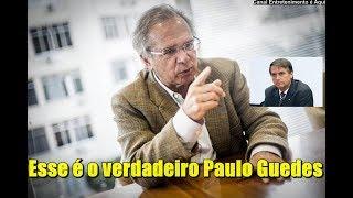 É esse o motívo que fez Bolsonaro nomear Paulo Guedes como Minístro da Fazenda