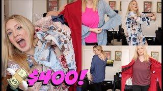 PLUS SIZE Clothing Haul & Try on!! $400!!! Pink Blush Haul | Jade Madden