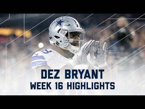 Dez Bryant 3 Total TD Game! | Lions vs....
