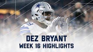Dez Bryant 3 Total TD Game! | Lions vs. Cowboys | NFL Week 16 Player Highlights