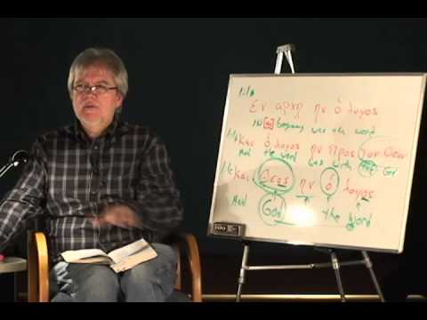Dr. Jones: A Breakdown of John 1:1 in Greek