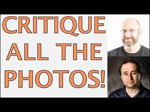 CRITIQUING ALL THE PHOTOS!! (Recorded Live)