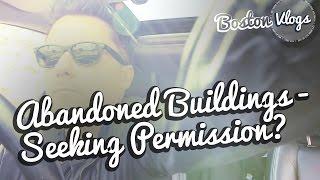 VLOG #123   Abandoned Buildings - Seeking Permission? + Chadstone Shopping New Area Open