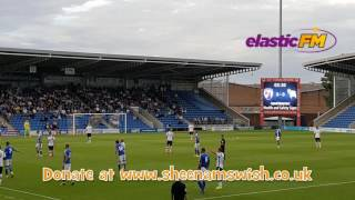 Shane Nicholson Testimonial Chesterfield versus  Derby County July 2016
