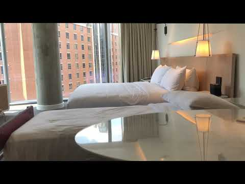 CONRAD Hilton Hotel, Washington D.C. 2019 ROOM 609 Suite Review