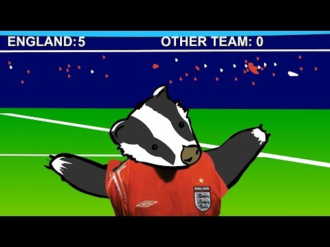 Football Badgers : animated music video : MrWeebl