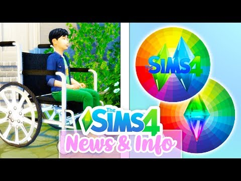 DISABILITIES? COLOUR WHEEL? FUTURE WORLDS? // THE SIMS 4 | NEWS/INFO/SPECULATION