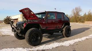 MONSTER Lifted 2007 Jeep Wrangler Unlimited Sahara For Sale~BIG $$ Spent on Well Thought Out Mods