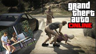 VIOL VIRTUEL ET HACKERS - GTA 5 ONLINE