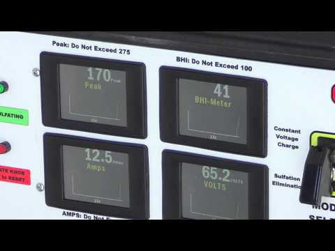 South Africa Telecom Battery Desulfation with Batt-Recon Model 4800F/CX Battery Optimizer