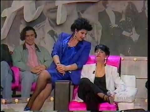 Mia Martini a 'Serata d'onore' intervistata da Maurisa Laurito insieme a Papà Bertè