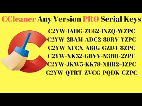 CCleaner PRo Any Version  Serial Keys 2017 | Ccleaner Professional Pro