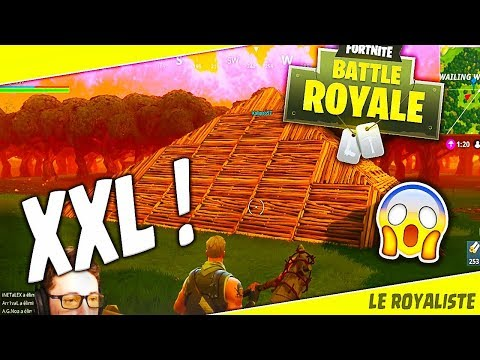 TROLL FORTNITE | FAIRE UNE PYRAMIDE XXL !!! [BATTLE ROYALE FR]