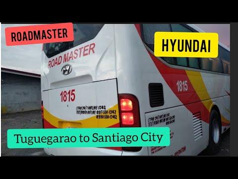 Road Master Transport (Hyundai) Tuguegarao to Santiago Trip