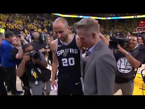 Inside the NBA: Kerr's Words To Ginobli