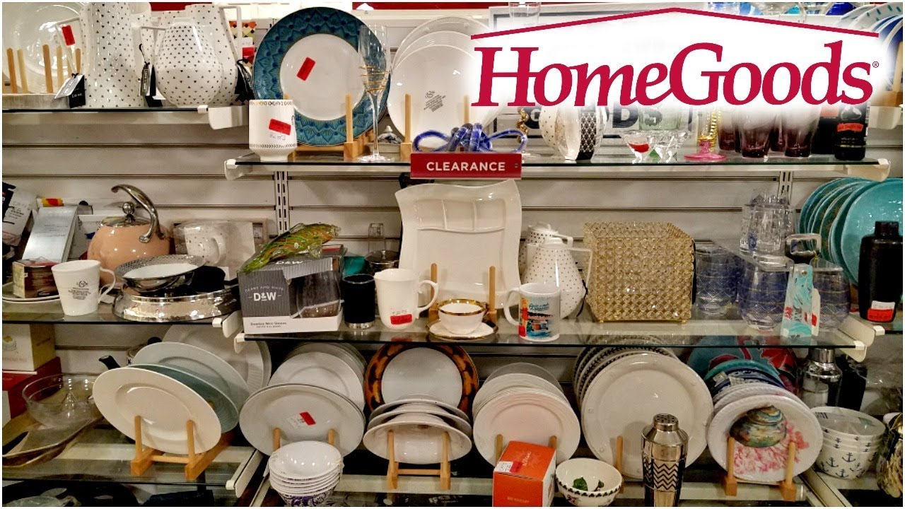 Shop With ME HOMEGOODS CLEARANCE WALK THROUGH 2018 & Shop With ME HOMEGOODS CLEARANCE WALK THROUGH 2018 - YouTube