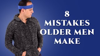 8 Mistakes Older Men Make Trying to Look Young