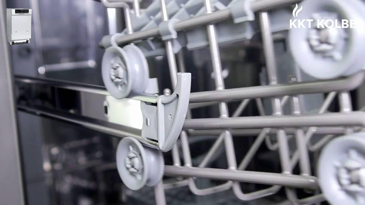 KKT KOLBE Produkt Check: Kompakt Geschirrspüler Teilintegrierbar GSI452ED,  45 Cm
