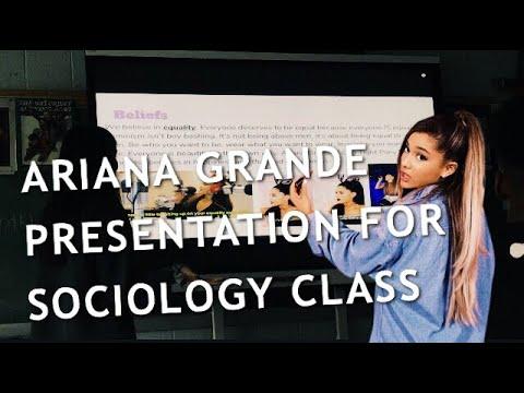 'Ariana Grande Scalp Tight PonyTail Land 'sociology presentation