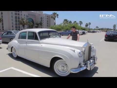 1962 Rolls Royce Silver Cloud 2 Test Drive/Ролс Ройс Силвер Клауд 2  Тест Драйв
