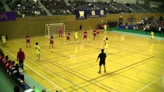 全国高等学校ハンドボール選抜大会 準決勝 興南 対 横浜創学館