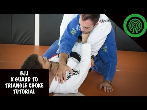 BJJ X Guard to Triangle Choke Tutorial