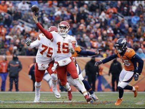 Patrick Mahomes QB Kansas City Chiefs Film Review vs Broncos