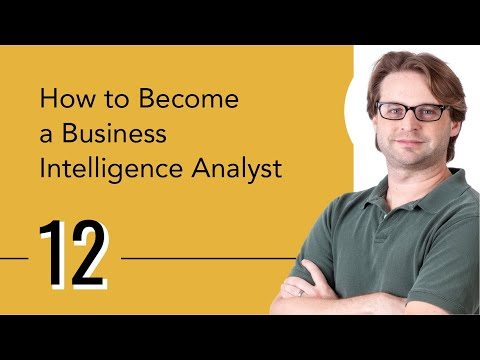 How To Become A Business Intelligence Analyst