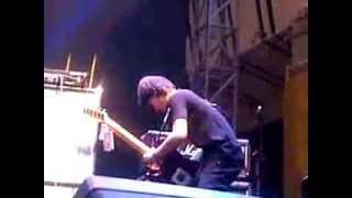 Eross Chandra jam session promo squier by Fender in Surabaya 3