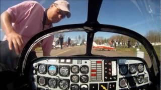 C-ARF CT-114 Tutor RC Jet onboard video