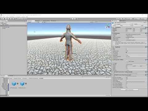 Unity 3D - Model Swapping using the Third Person Controller