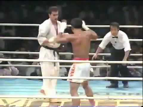 Kyokushin  vs muay thai
