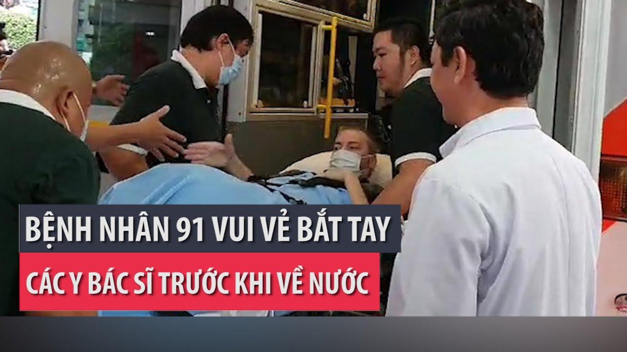 Bệnh nhân 91 rời BV Chợ Rẫy ra sân bay về nước - PLO