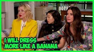 Ocean's 8 Actors Are Professional Comedians (Cate Blanchett, Sandra Bullock)