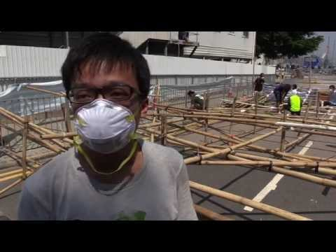 Hong Kong Monday Protests 1