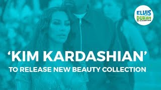 Kim Kardashian Releasing Wedding Anniversary Beauty Collection | Elvis Duran Show