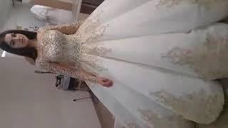 Мусульманка в свадебном платье