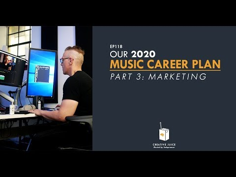 Our 2020 Music Career Plan – Part 3: Marketing