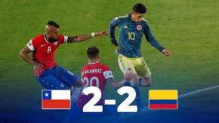 Qatar Qualifiers 2022 | Chile vs. Colombia | Matchday 2
