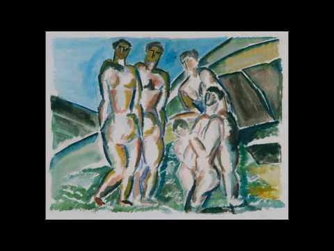 Ossip Zadkine   奧西普·薩德金   (1890 - 1967)  Expressionism  Cubism   French