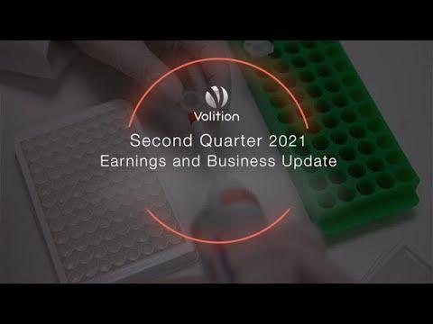 VolitionRx Limited Announces Second Quarter 2021 Financial...
