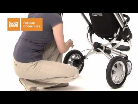 How to fit your Lascal BuggyBoard® to your pushchair - Easy fitting guide. No tools needed.