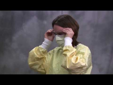 PPE Infection Control  Sequence Of Donning And Doffing