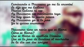 Gente de Zona   -  Más Macarena Ft. Los Del Rio (Lyrics)