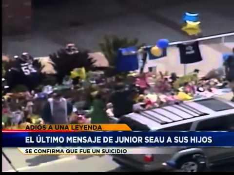 Último mensaje de Junior Seau a sus hijos