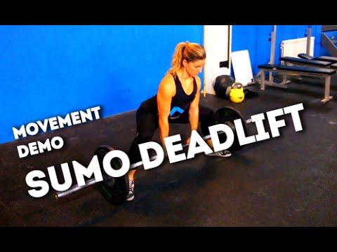 Movement Demo // Sumo Deadlift