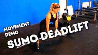 Movement Demo // Sumo Deadlift